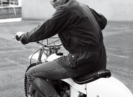 Ewan MacGregor Motorcycle 450x330 - Ewan McGregor On An Ossa
