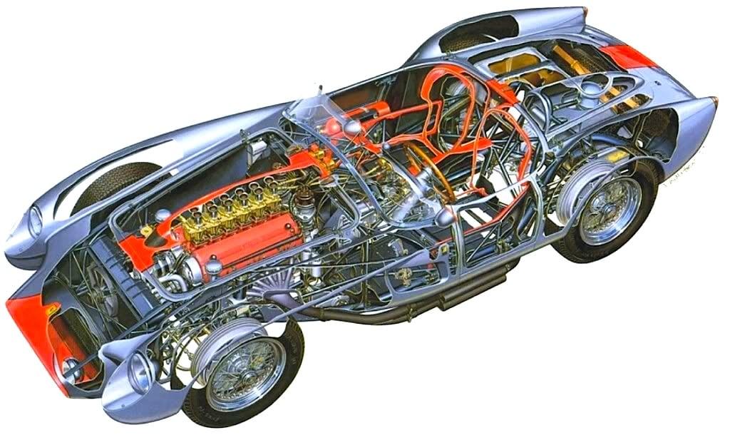 Ferrari TR 250 Testa Rossa 6