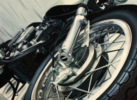 Guenevere Schwien Vintage Ducati 450x330 - Vintage Ducati Art