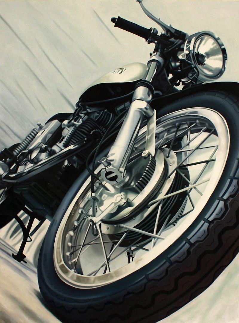 Guenevere Schwien Vintage Ducati Vintage Ducati Art