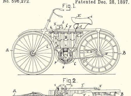H. W. Libbey's Electric Bicycle