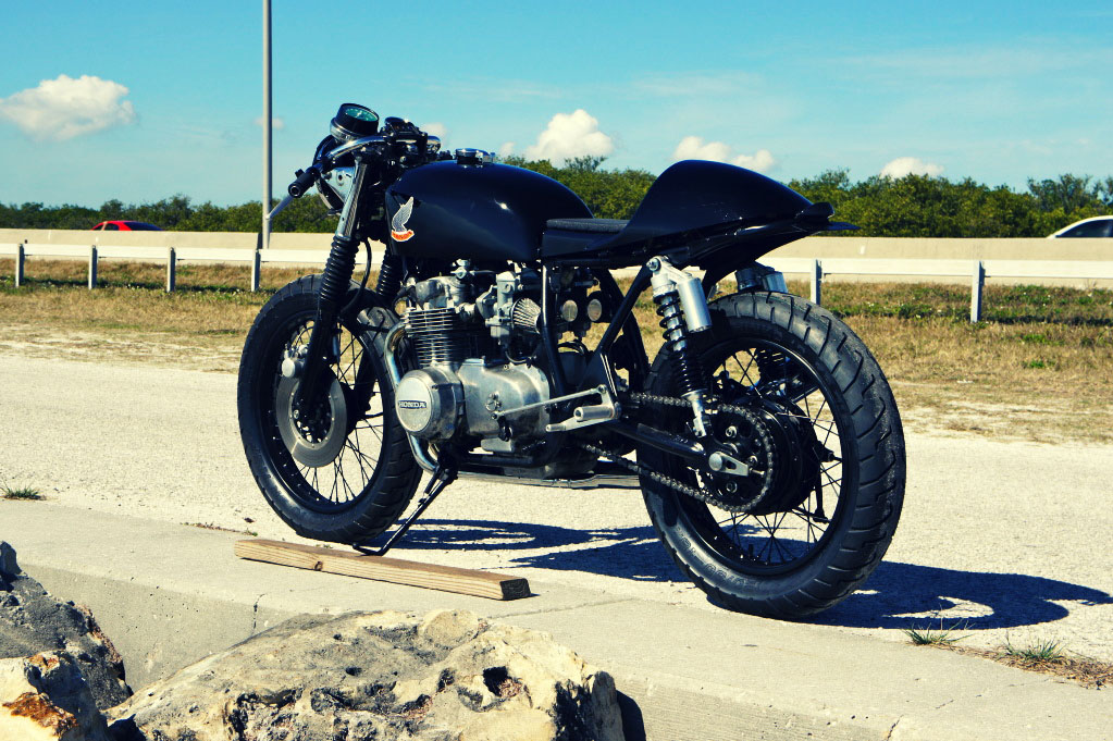 Honda CB500 Café Racer by Steel Bent Customs - (SILODROME)