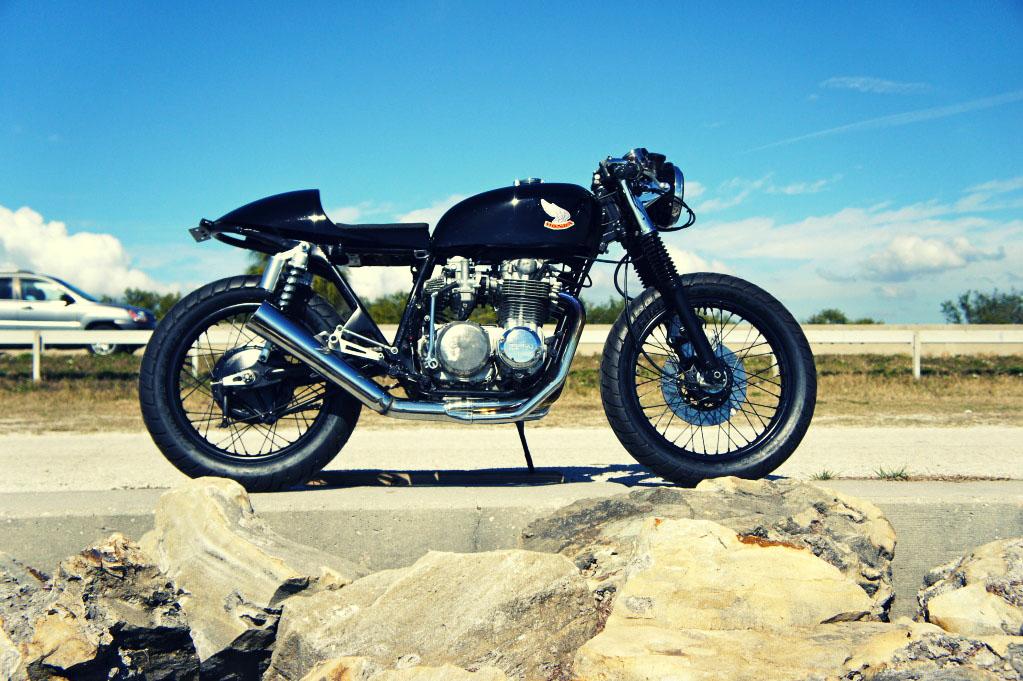 Honda CB500 By Steel Bent Customs