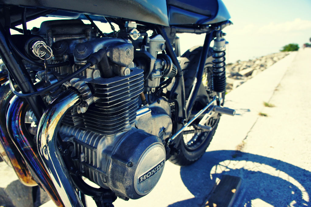 Honda CB500 by Steel Bent Customs 9 Honda CB500 by Steel Bent Customs