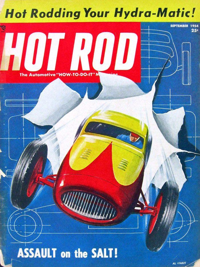 Hot Rod Magazine - 1950 - (SILODROME)