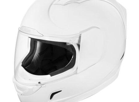 Icon Alliance Helmet White