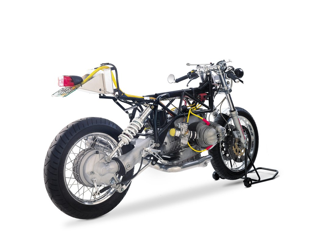 Team Incomplete BMW Boxer Cuctom Motorcycle BMW Café Racer by Team Incomplete