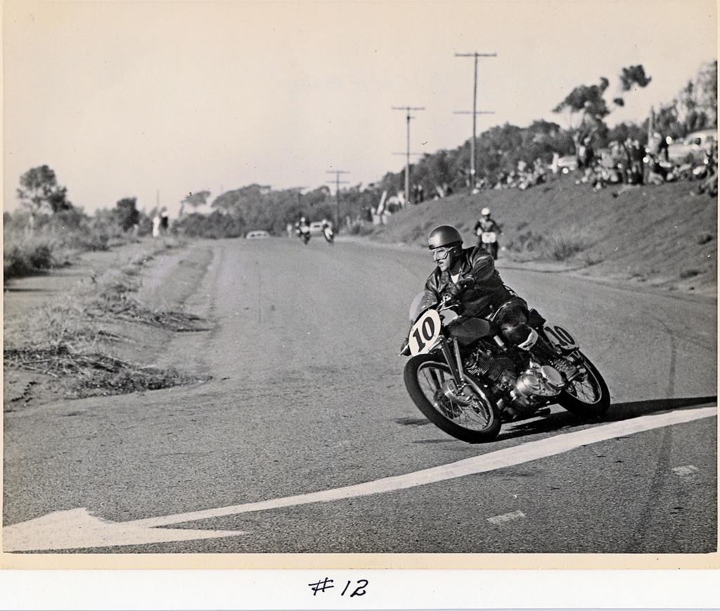 Vintage racing videos