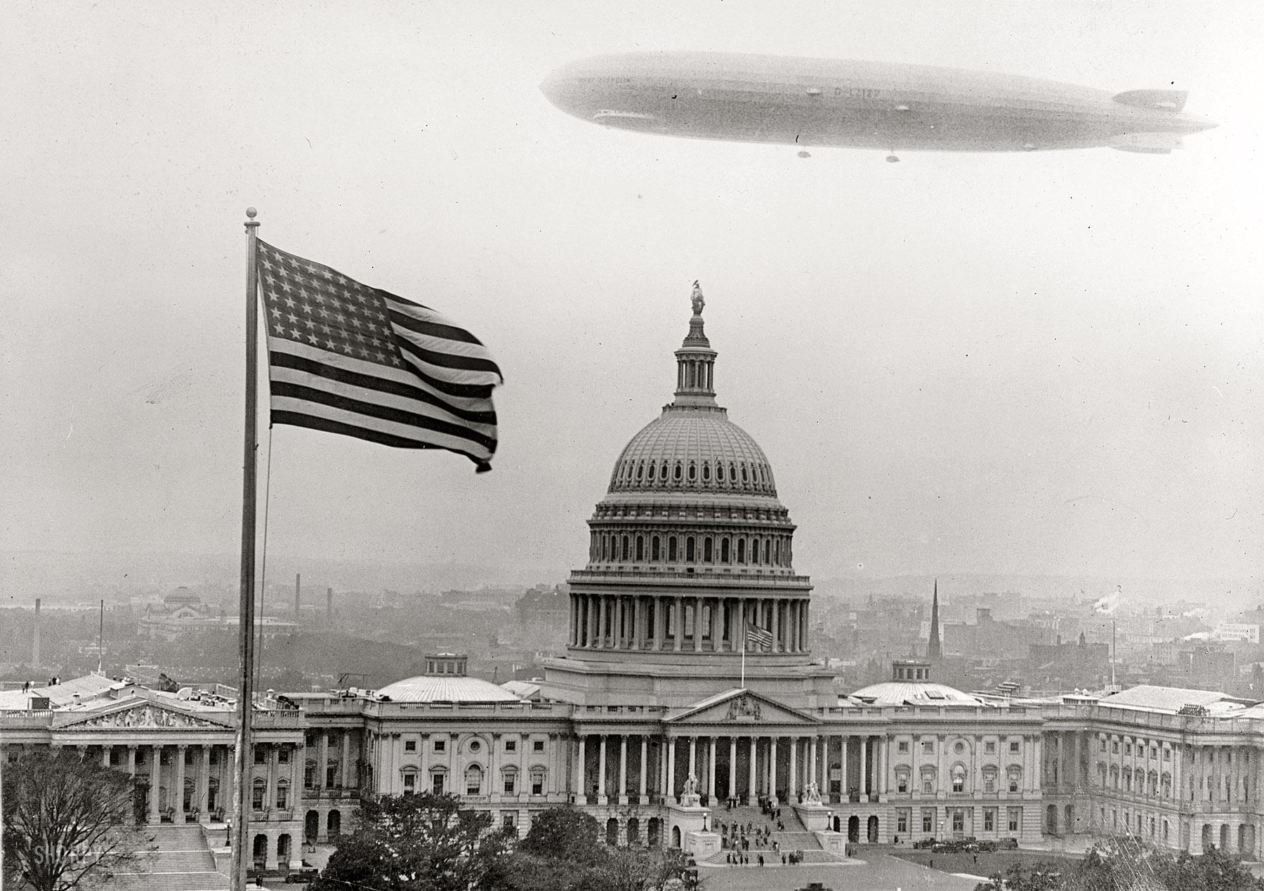 Washinton Capitol Graf Zeppelin The Graf Zeppelin