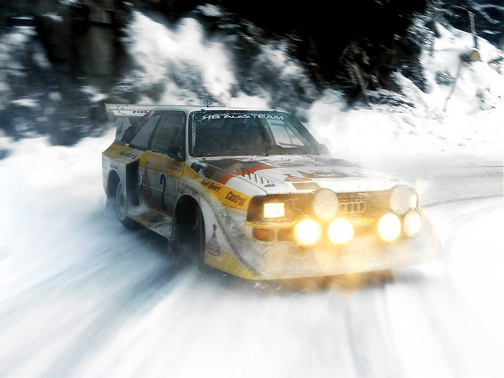 audi rally car Audi Sport Quattro S1