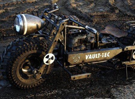 fallout 3 bike 450x330 - Fallout 3 Bike