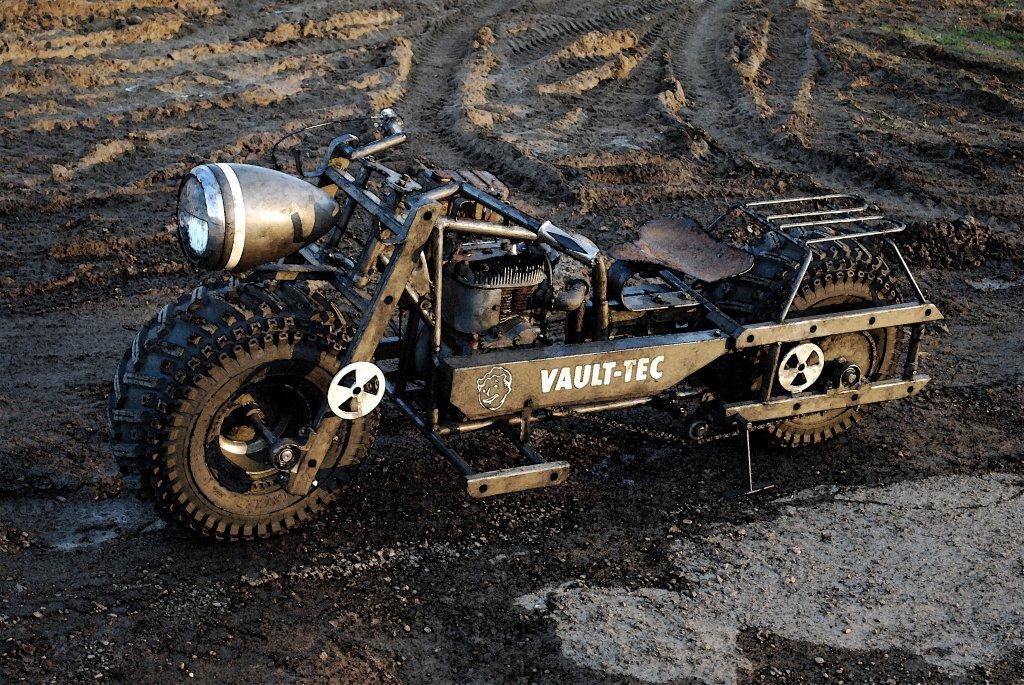 fallout bike motorcycle chris Fallout 3 Bike