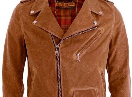 schott perfecto canvas motorcycle jacket NYC 450x330 - Schott Perfecto Canvas Motorcycle Jacket