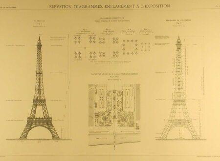 Eiffel Blueprints 4 450x330 - Eiffel Tower Blueprints