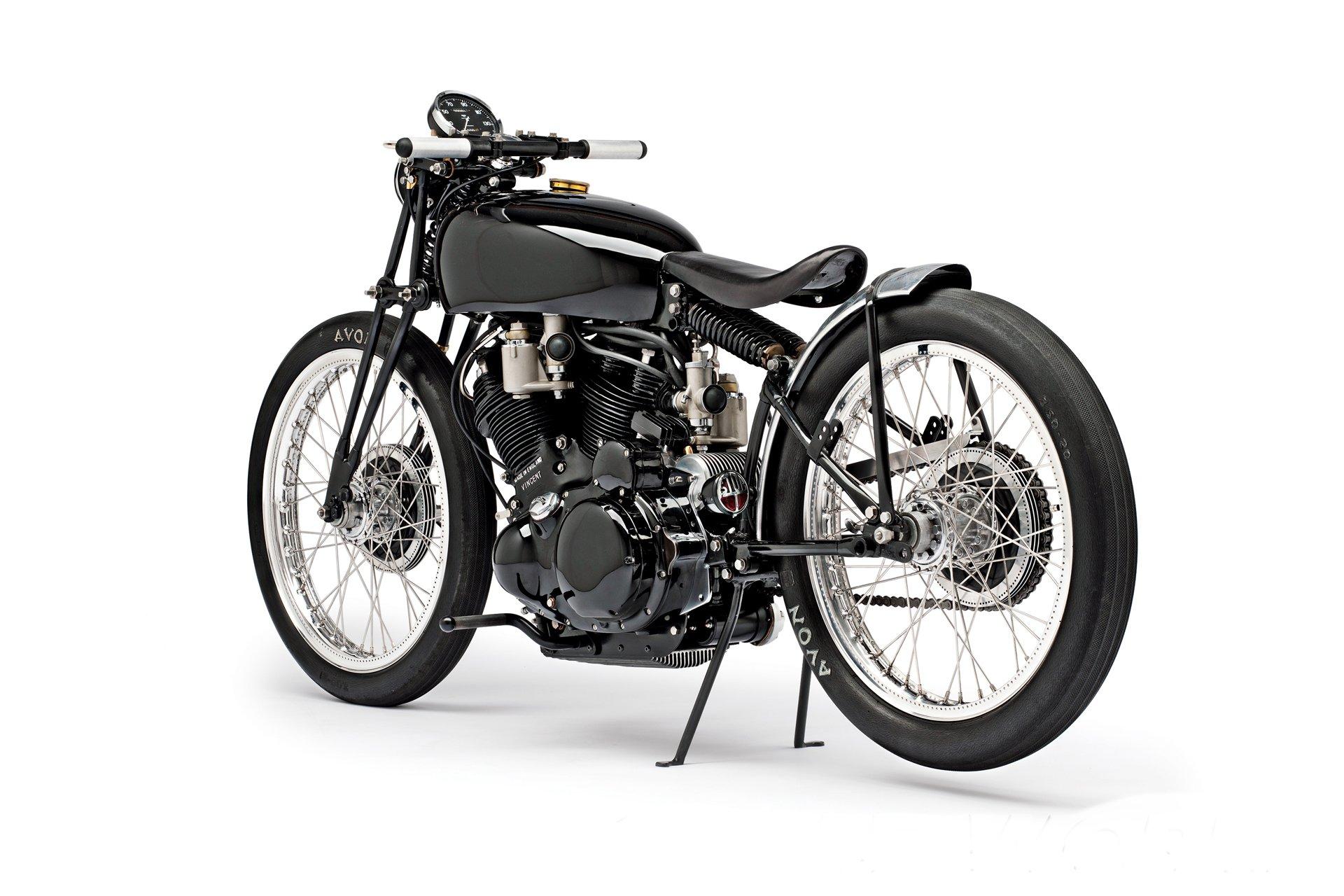 Jeff Deckers 1952 Vincent Black Lightning Custom Motorcycle Jeff Deckers 1952 Vincent Black Lightning