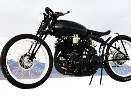 Jeff Decker's 1952 Vincent Black Lightning Custom