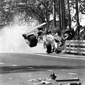 Jochen Rindt's Crash - '69 Spanish Grand Prix