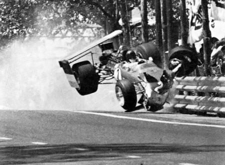 Jochen Rindts Crash 69 Spanish Grand Prix 450x330 - Jochen Rindt's Crash - '69 Spanish Grand Prix
