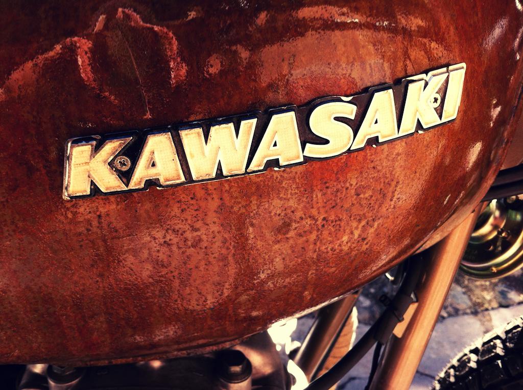 Kawasaki Z400 1