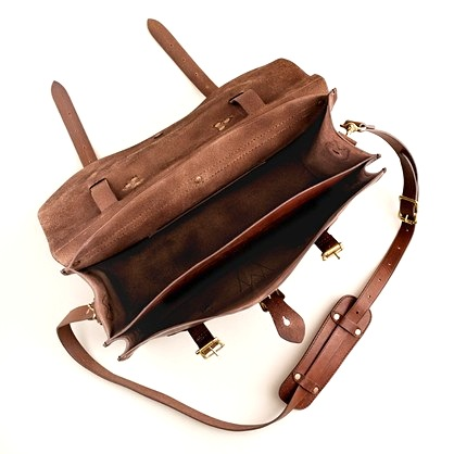 Montague Leather Satchel Bag