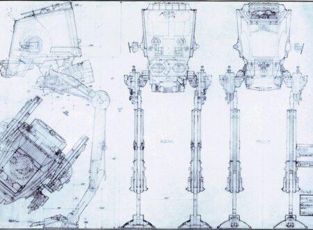 Star Wars All Terrain Scout Transport Blueprint 450x330 - Star Wars All Terrain Scout Transport Blueprints