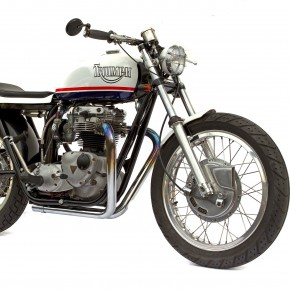 Triumph T120 by Deus Ex Machina