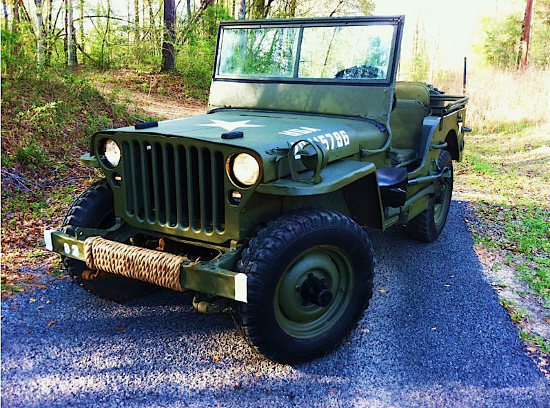 WWII Jeep Ford