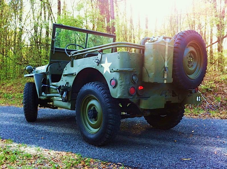 WWII Jeep Vintage