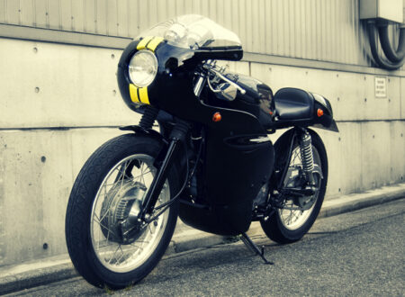 Yamaha SR400 Custom Bike
