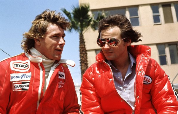 James Hunt and Barry Sheene