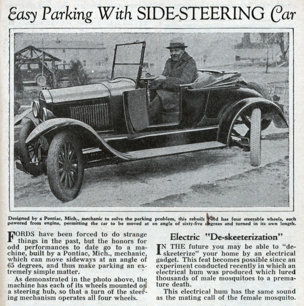 side steering car