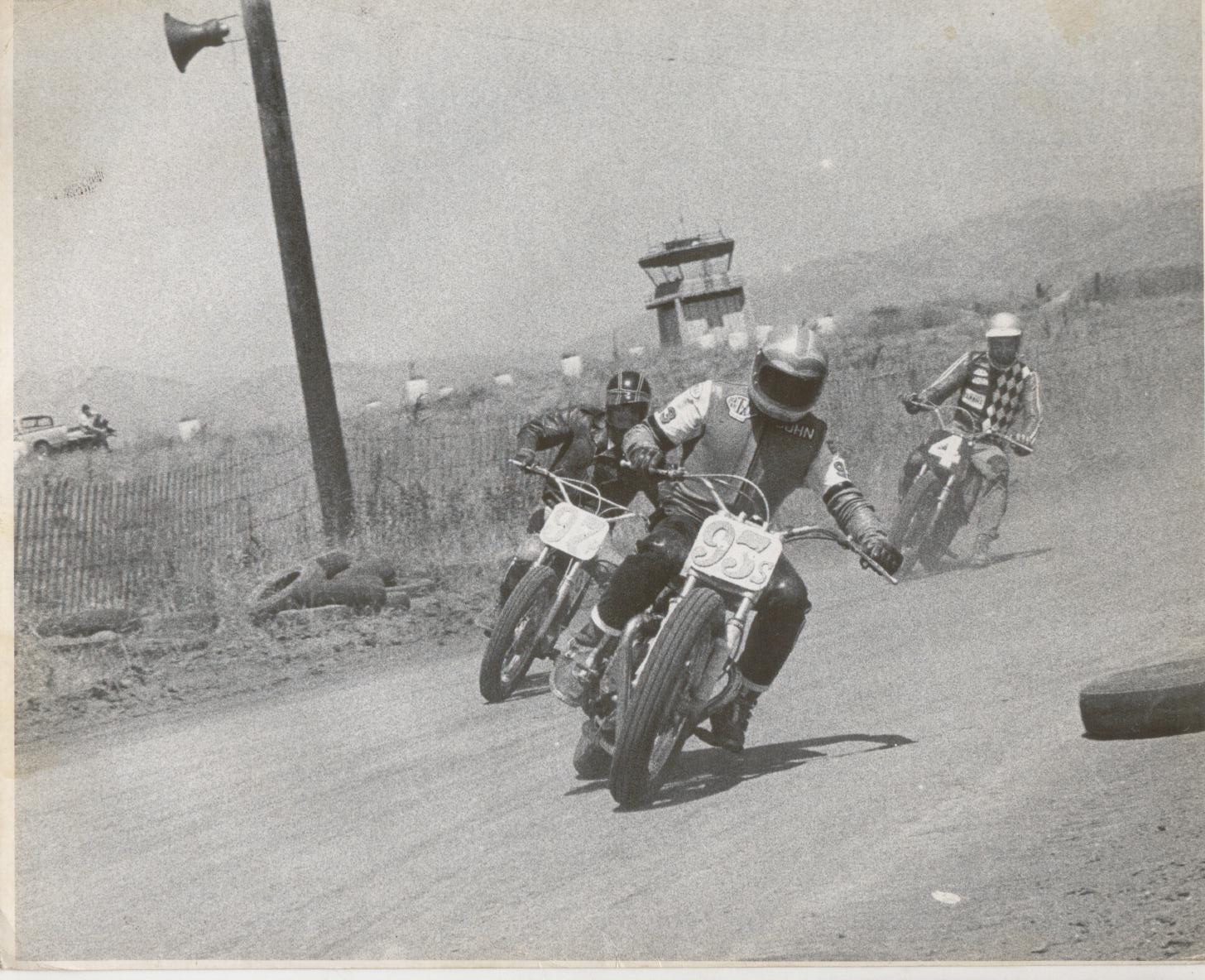 vintage flat track racing