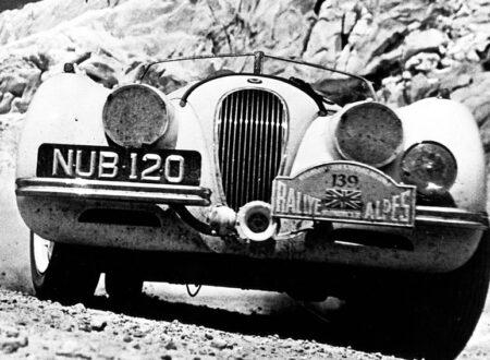 Alpine Rally Jaguar XK120 450x330 - Alpine Jaguar XK120