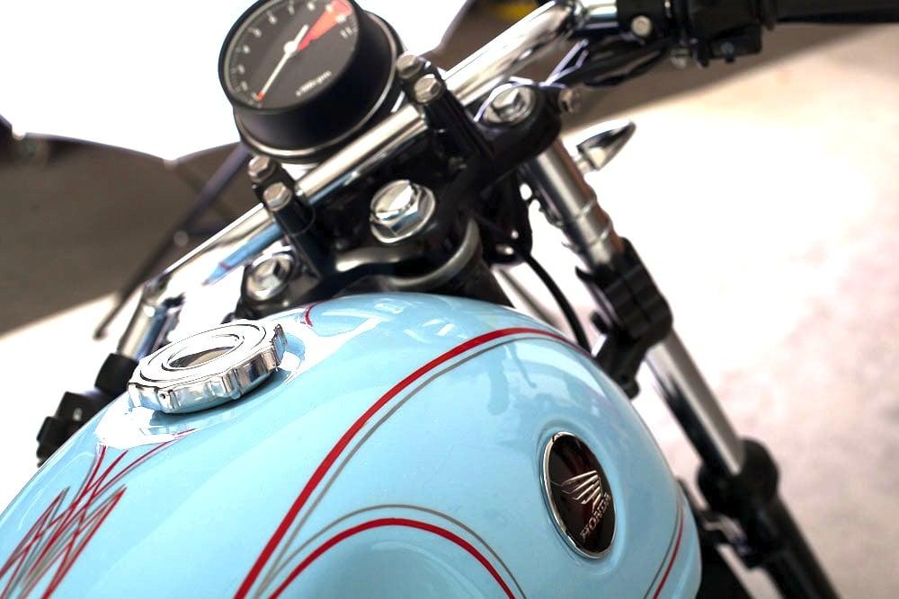 Honda CB350F-CB400F Café Racer