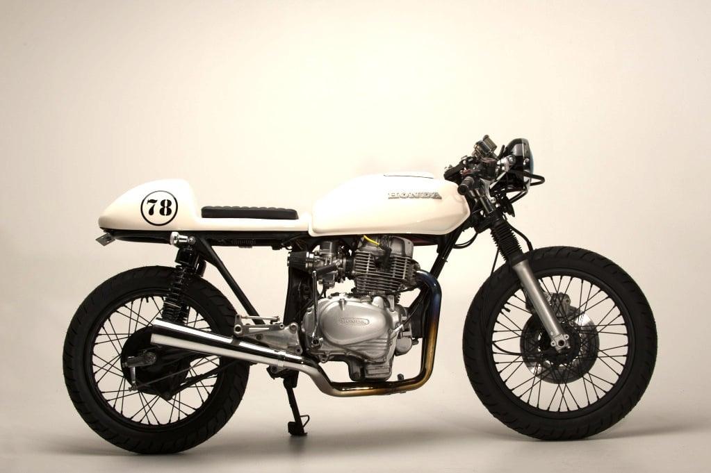 bike 01 Honda CB400T Café Racer