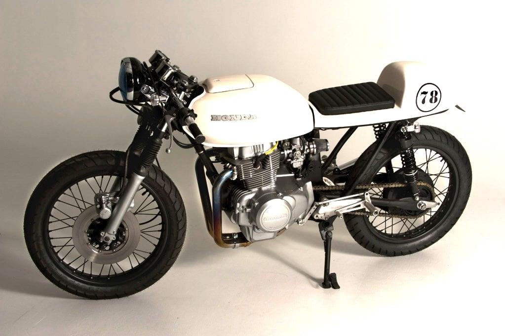 bike 02 Honda CB400T Café Racer