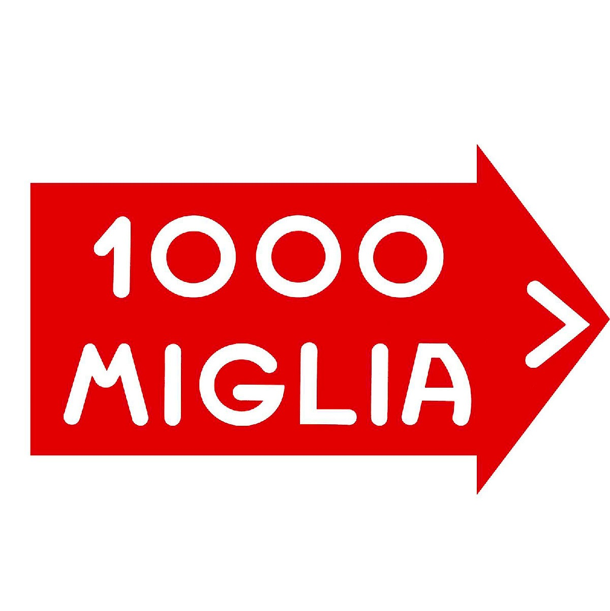 mille miglia sign