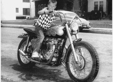triumph flat track 450x330 - The Triumph Kid