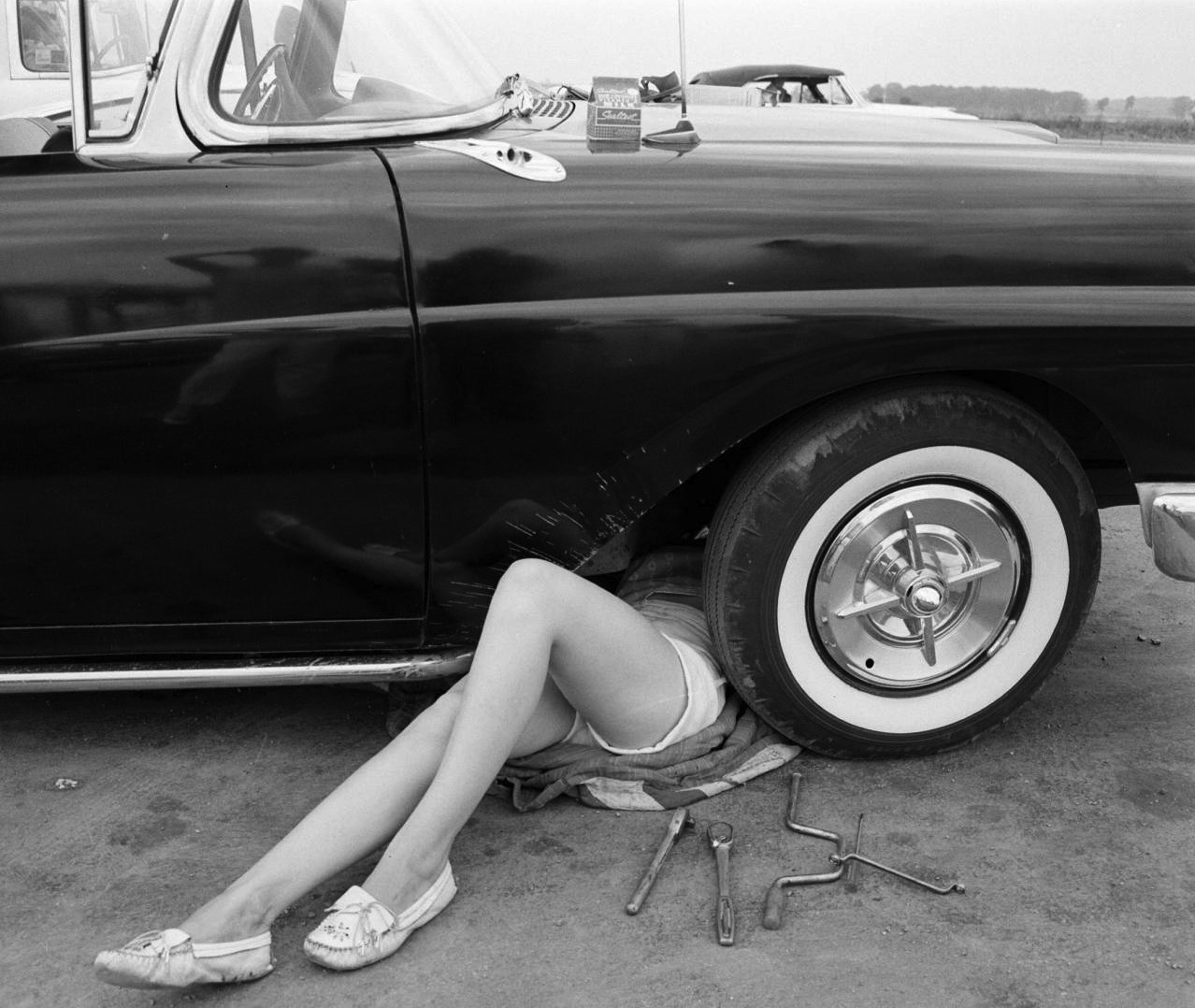 Lady grease monkey for What takes motor oil out of clothes