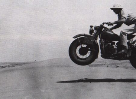wwII motorcycle balloon tires 450x330 - WWII Motorcycle Jumping