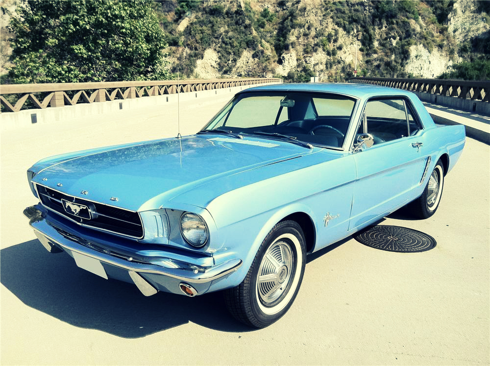 1965 Ford Mustang Silodrome