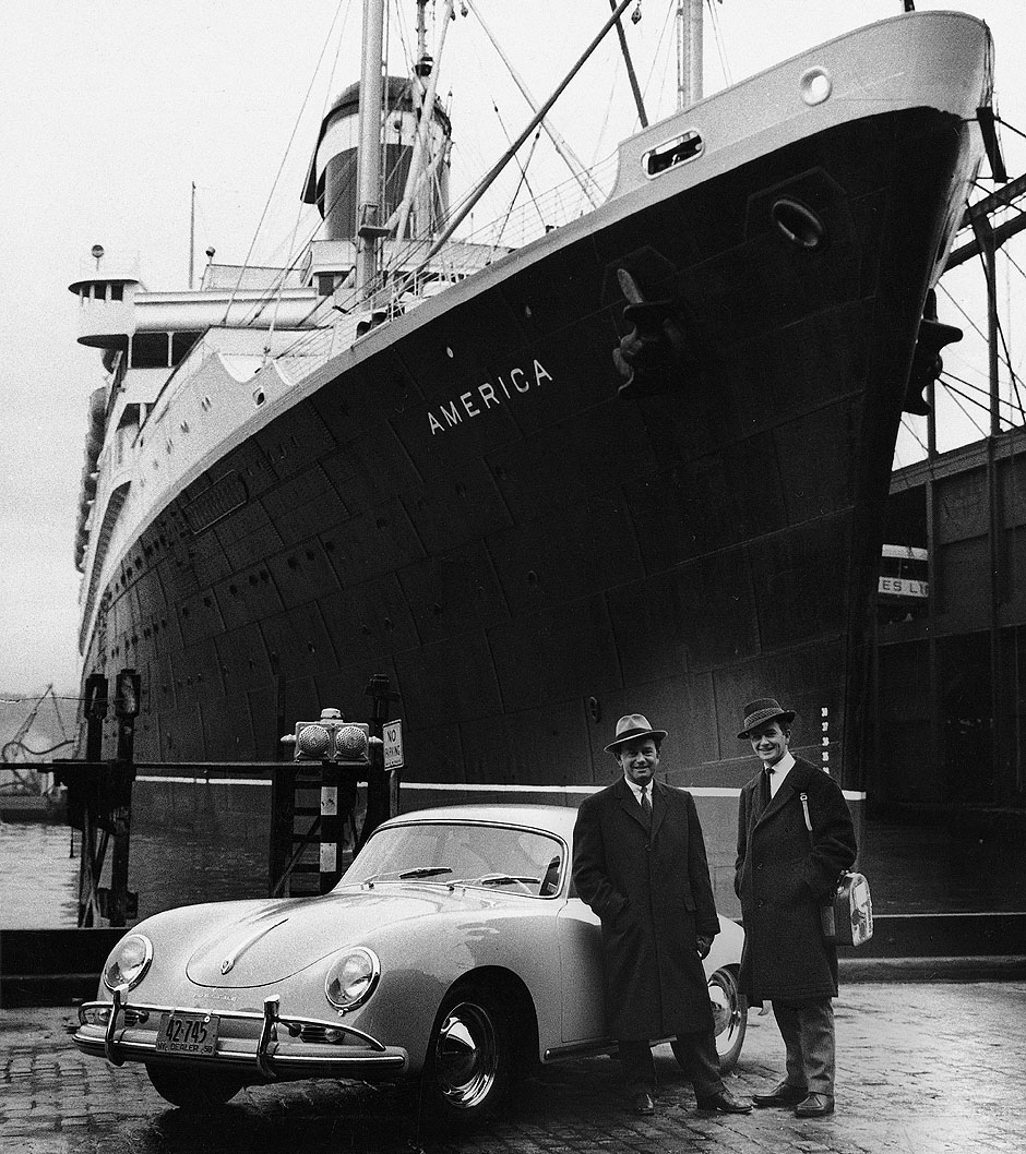 America Ship Porsche 356 1958 New York