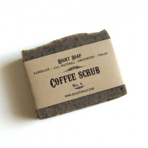 Coffee Scrub Soap by Right Soap
