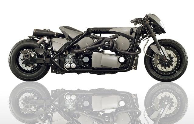 German Motorcycle Engine
