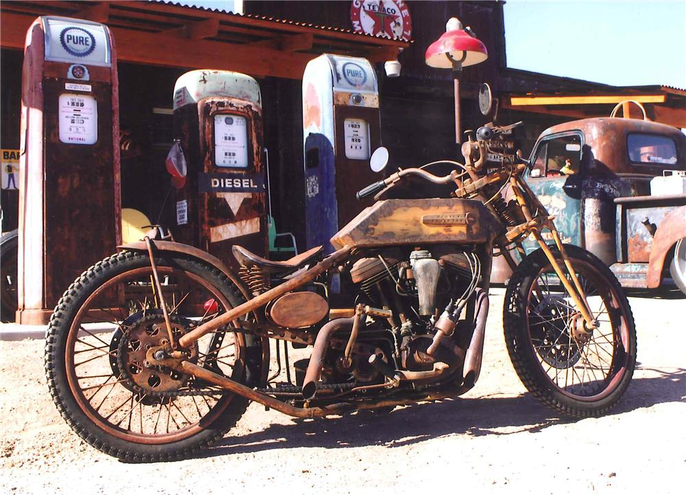 Custom Boardtracker Harley Silodrome