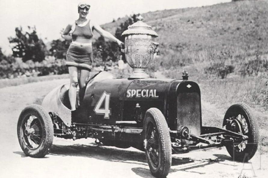 Pikes Peak 1927 Joe Unser Sr Graham Paige Princess Power w Penrose Trophy Pikes Peak Trophy Girl