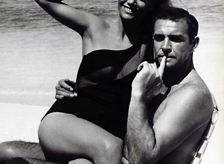 Sean Connery with Claudine Auger Thunderball 450x330 - Connery Cool