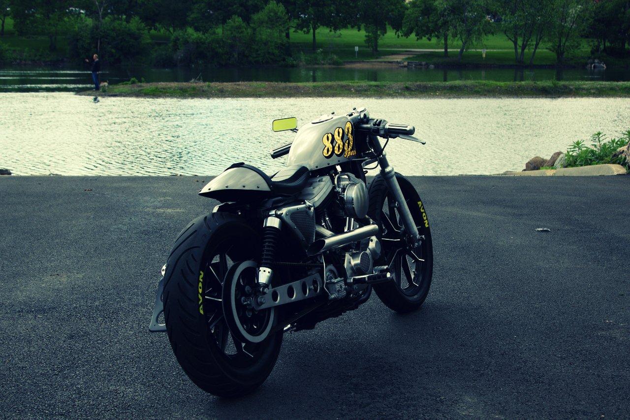Sportster Café Racer 3 Harley Davidson Sportster Café Racer