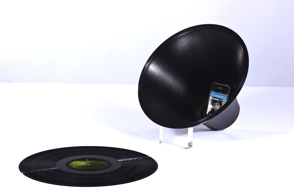 Vinyl Loudspeaker Paul Cocksedge