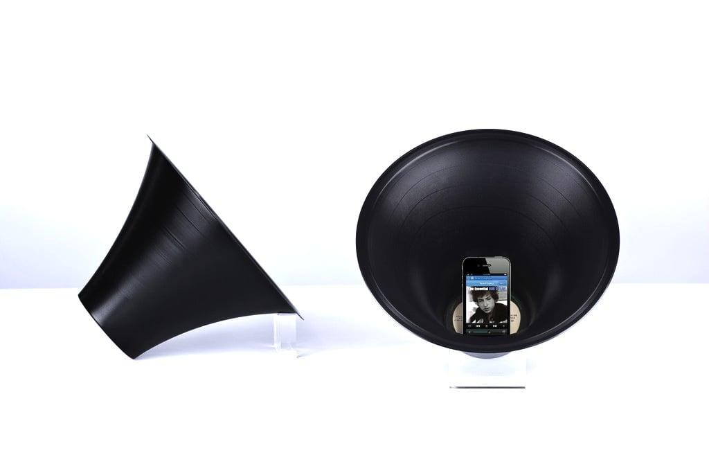 Vinyl Loudspeaker by Paul Cocksedge
